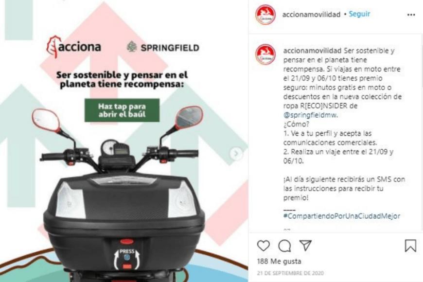 Movilidad sostenible - Acciona