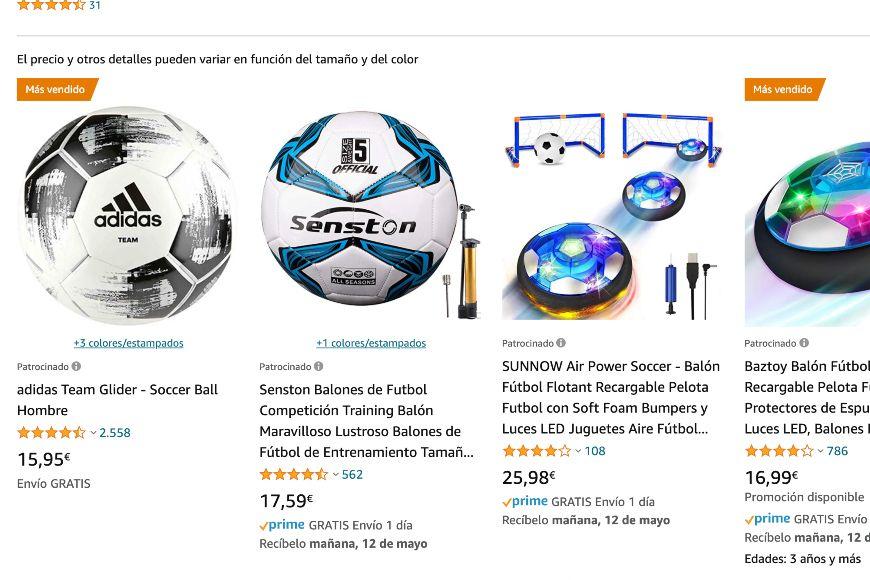 Amazon Ads para vender artículos deportivos
