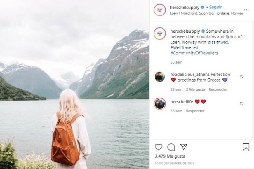 Como crear una tienda en Instagram - Ejemplo