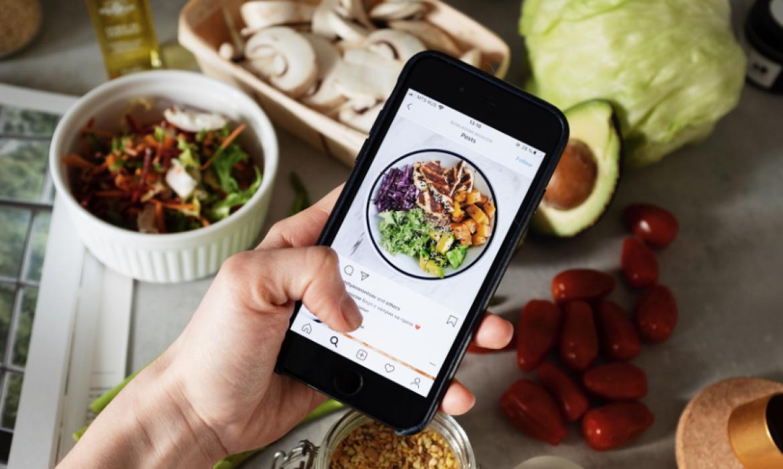 Visibilidad en Instagram - Foto de comida